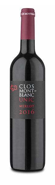 Vin Únic merlot - Clos Montblanc
