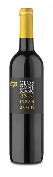 Vino ÚNIC SYRAH - Clos Montblanc