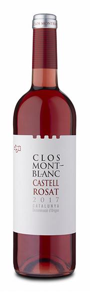 CASTELL ROSÉ wine - Clos Montblanc